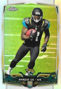 2014 Topps Chrome 126 Marqise Lee Refractor