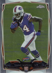 2014 Topps Chrome Football Variation Short Prints Guide 96