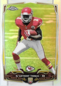 2014 Topps Chrome Football Variation Short Prints Guide 104
