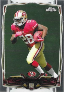 2014 Topps Chrome 158 Carlos Hyde