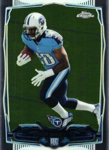 2014 Topps Chrome 163 Bishop Sankey