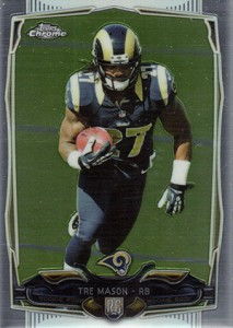 2014 Topps Chrome Football Variation Short Prints Guide 110