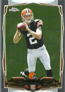 2014 Topps Chrome 169 Johnny Manziel