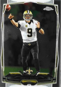 2014 Topps Chrome 17 Drew Brees