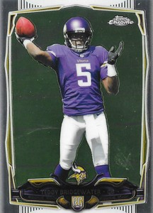 2014 Topps Chrome 173 Teddy Bridgewater
