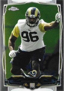 2014 Topps Chrome 174 Michael Sam