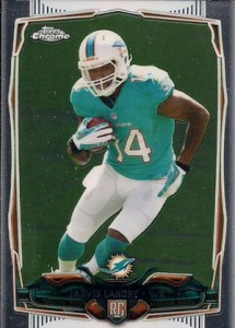 2014 Topps Chrome Football Variation Short Prints Guide 120