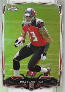 Mike Evans Visual Rookie Card Guide and Checklist 37
