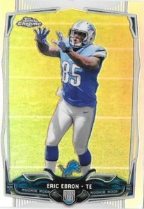 2014 Topps Chrome Football Variation Short Prints Guide 128