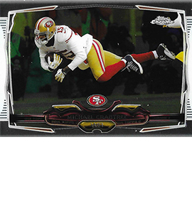 2014 Topps Chrome 32 Michael Crabtree 270x300