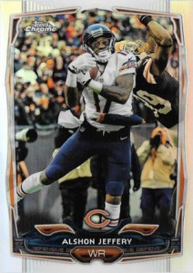 2014 Topps Chrome 33 Alshon Jeffery