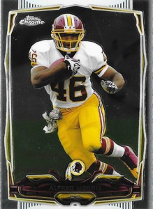 2014 Topps Chrome Football Variation Short Prints Guide 17