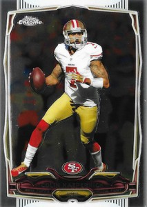 2014 Topps Chrome 56 Colin Kaepernick