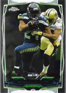 2014 Topps Chrome 61 Marshawn Lynch