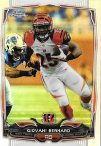 2014 Topps Chrome Football Variation Short Prints Guide 27