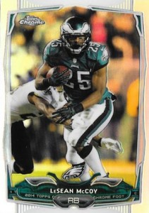 2014 Topps Chrome Football Variation Short Prints Guide 29