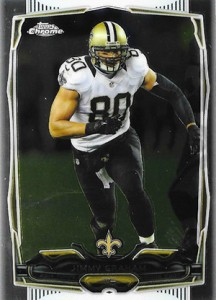 2014 Topps Chrome 67 Jimmy Graham
