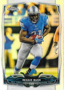2014 Topps Chrome 71 Reggie Bush Refractor