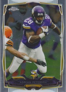 2014 Topps Chrome 89 Adrian Peterson