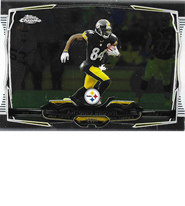 2014 Topps Chrome 9 Antonio Brown 270x300