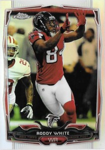 2014 Topps Chrome 99 Roddy White Refractor
