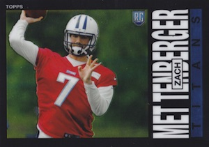 2014 Topps Chrome Football Cards 30