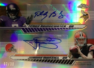 2014 Topps Chrome Football Cards 25