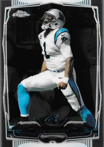 2014 Topps Chrome Football Variations 103 Cam Newton
