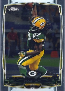 2014 Topps Chrome Football Variations 106 Eddie Lacy