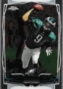 2014 Topps Chrome Football Variations 109 Nick Foles
