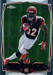 2014 Topps Chrome Football Variations 125 Jeremy Hill