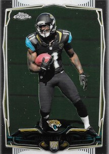 2014 Topps Chrome Football Variations 126 Marqise Lee
