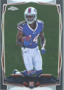 2014 Topps Chrome Football Variations 138 Sammy Watkins