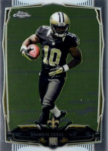 2014 Topps Chrome Football Variations 149 Brandin Cooks
