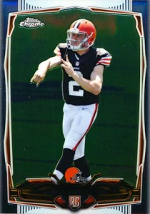 2014 Topps Chrome Football Variations 169 Johnny Manziel