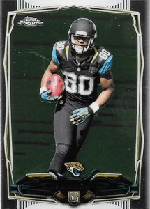 2014 Topps Chrome Football Variations 172 Allen Robinson