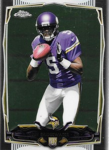 2014 Topps Chrome Football Variations 173 Teddy Bridgewater