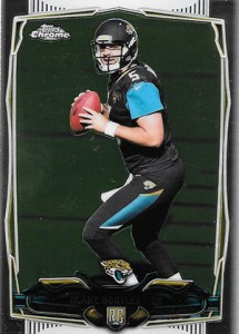 2014 Topps Chrome Football Variations 187 Blake Bortles