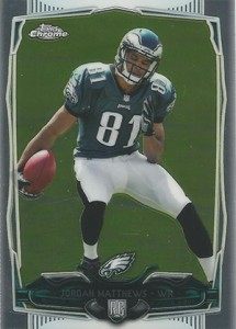 2014 Topps Chrome Football Variations 212 Jordan Matthews