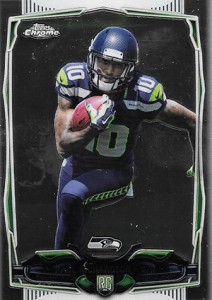 2014 Topps Chrome Football Variations 219 Paul Richardson