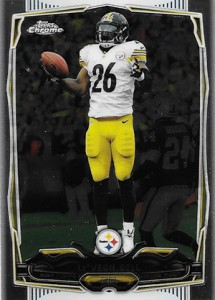 2014 Topps Chrome Football Variations 50LeVeon Bell