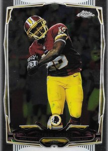 2014 Topps Chrome Football Variations 52 Alfred Morris
