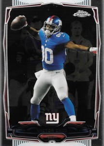 2014 Topps Chrome Football Variations 60 Victor Cruz