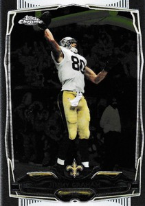 2014 Topps Chrome Football Variations 67 Jimmy Graham