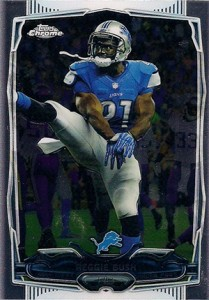 2014 Topps Chrome Football Variations 71 Reggie Bush