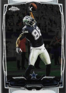 2014 Topps Chrome Football Variations 78 Dez Bryant