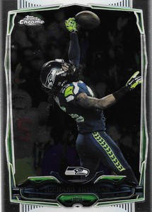 2014 Topps Chrome Football Variations 97 Richard Sherman