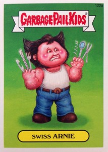 Know the 2014 Topps Garbage Pail Kids Series 2 Art Variations 1