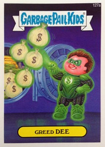 Know the 2014 Topps Garbage Pail Kids Series 2 Art Variations 5