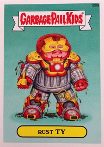 Know the 2014 Topps Garbage Pail Kids Series 2 Art Variations 7